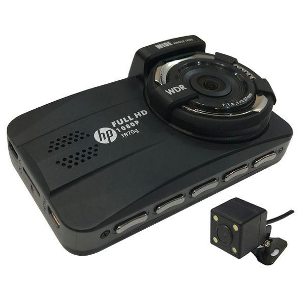 دوربین فیلم برداری خودرو اچ پی مدل f870g