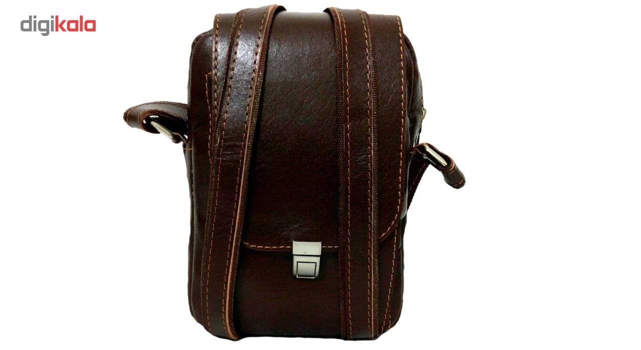 کیف رو دوشی زانکو چرم مدل KD-132 -  - 2