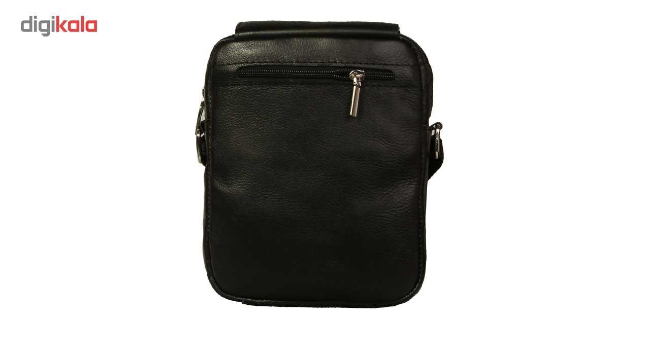 کیف رو دوشی زانکو چرم مدل KD-132 -  - 5