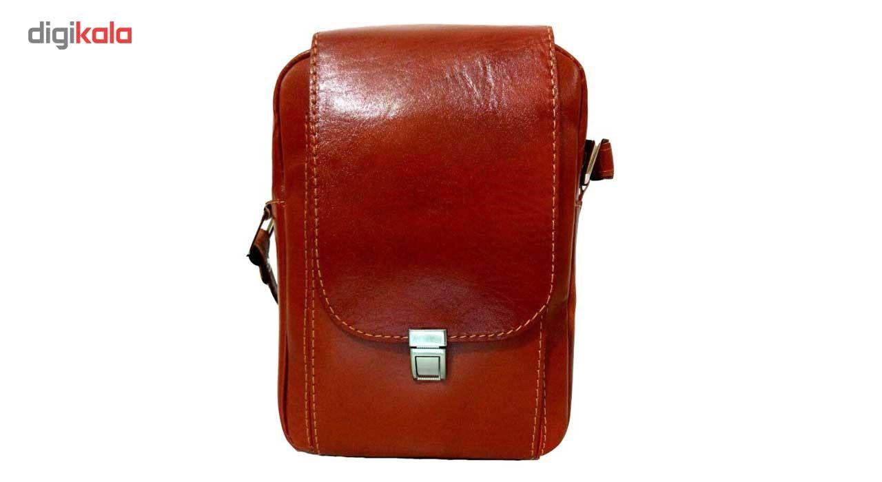 کیف رو دوشی زانکو چرم مدل KD-132 -  - 6