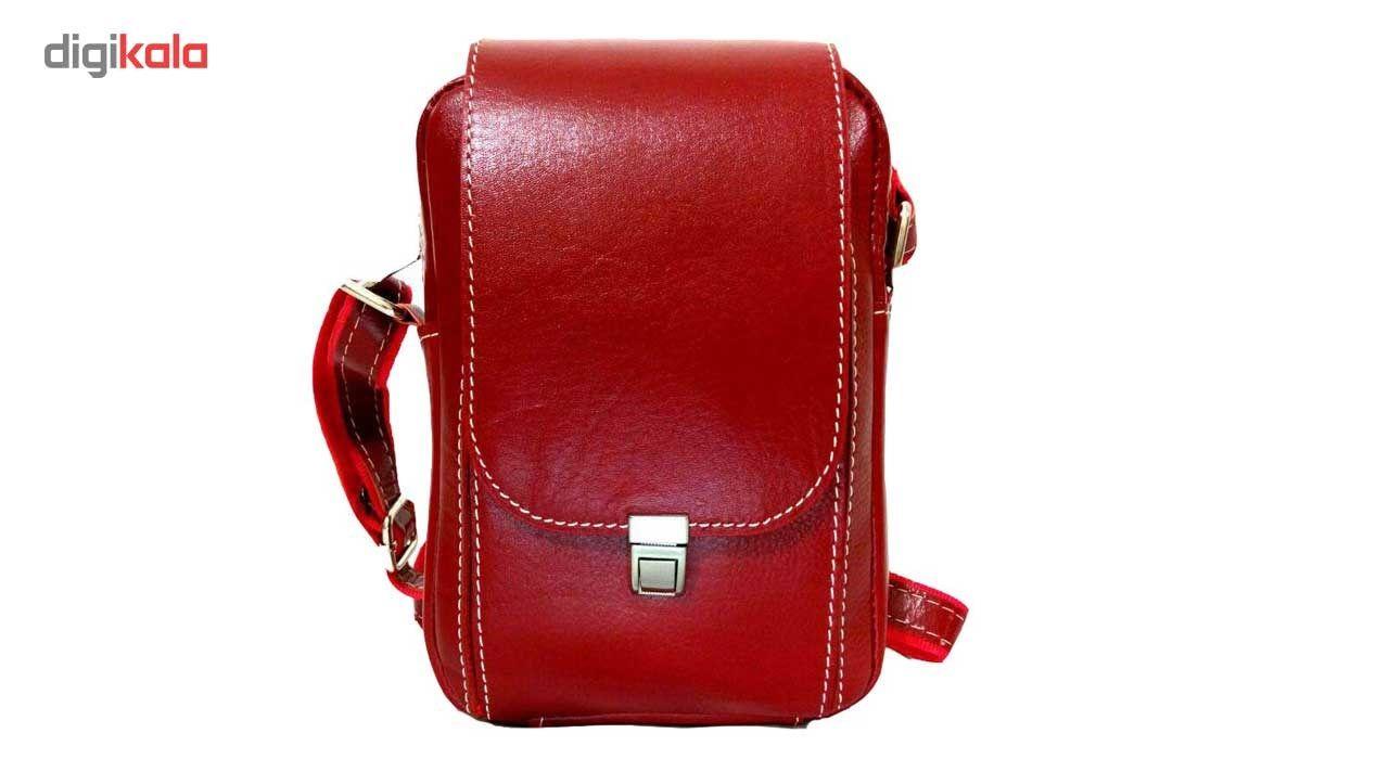 کیف رو دوشی زانکو چرم مدل KD-132 -  - 7