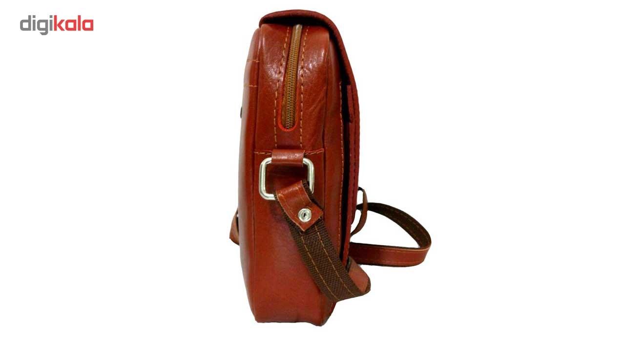 کیف رو دوشی زانکو چرم مدل KD-132 -  - 8