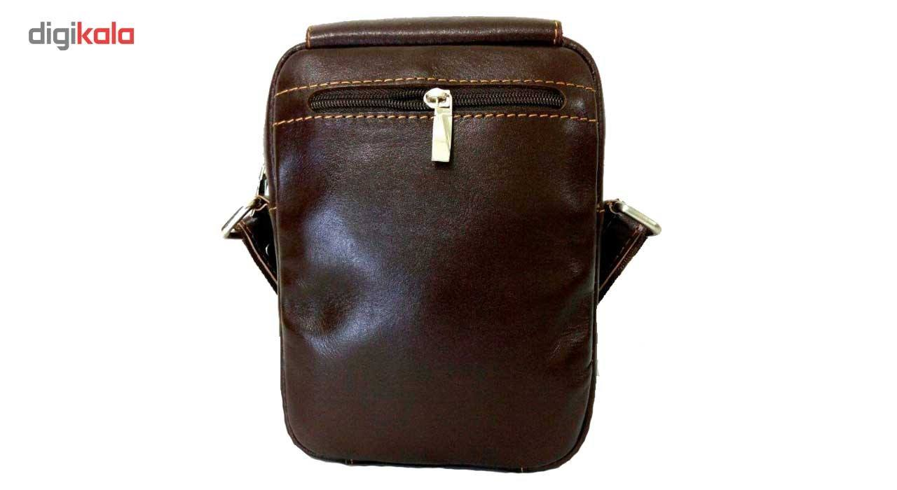 کیف رو دوشی زانکو چرم مدل KD-132 -  - 10