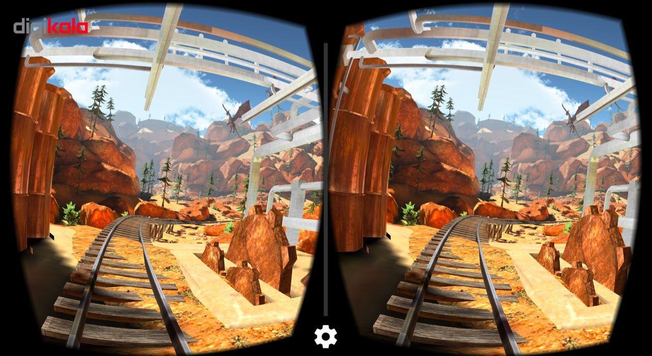 هدست واقعیت مجازی وی آر باکس مدل VR Box 2 به همراه ریموت کنترل بلوتوث و DVD  نرم افزار  و USB LED هدیه main 1 6