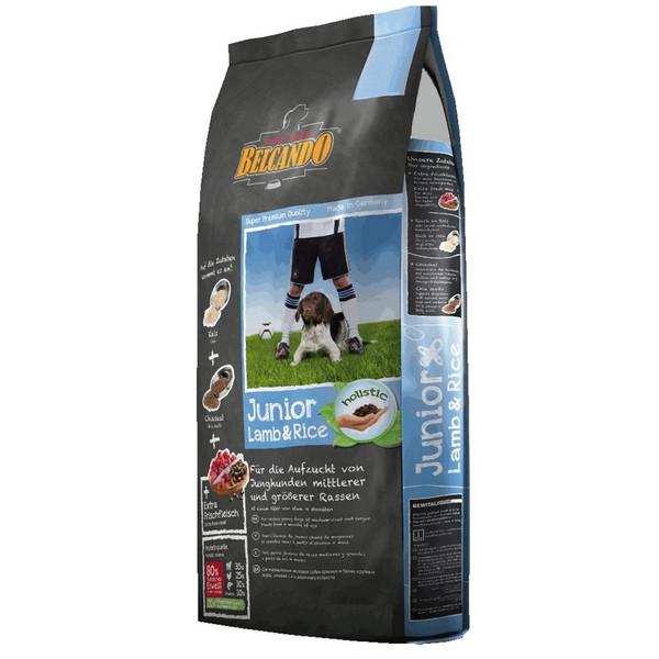 غذای خشک سگ بلکاندو مدل Junior Lamb And Rice وزن 1 کیلوگرم