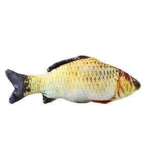 اسباب بازی گربه سری ماهی پولیشی مدل Plush Fish Imitation FT001-S