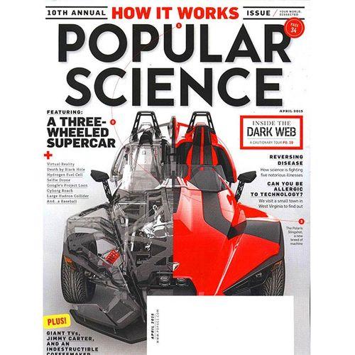 مجله پاپیولار ساینس - آوریل 2015