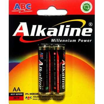 باتری قلمی ای بی سی مدل Alkaline بسته 2 عددی