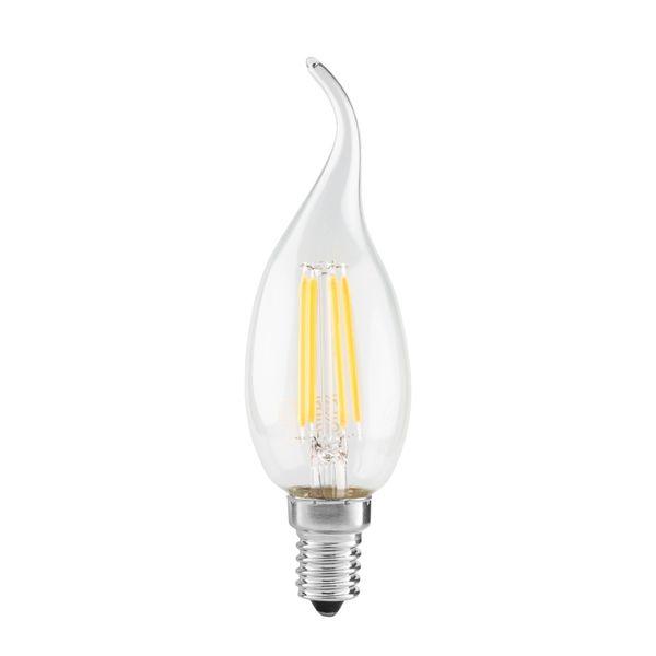 لامپ ال ای دی فیلامنت 4 وات دلتا مدل اشکی پایه E14