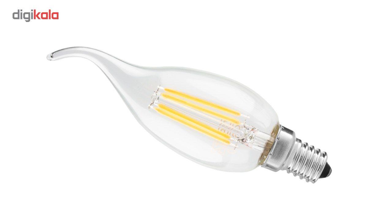 لامپ ال ای دی فیلامنت 4 وات دلتا مدل اشکی پایه E14 main 1 2