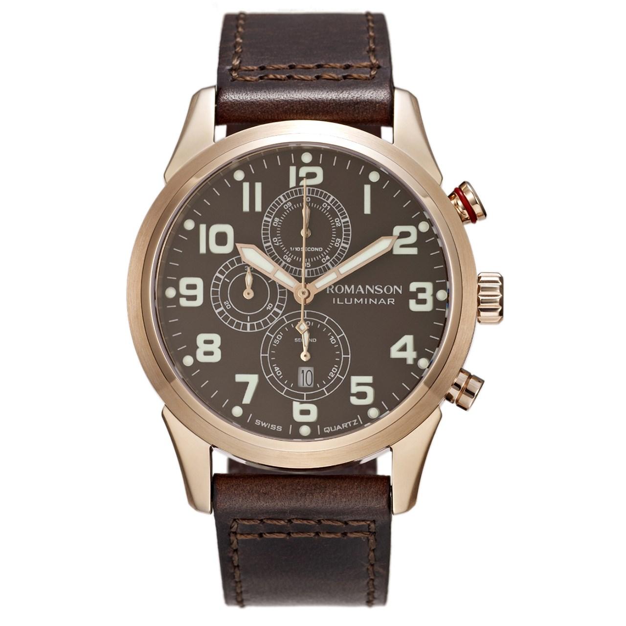 ساعت مچی عقربه ای مردانه رومانسون مدل AL6A14HMNRABR5 50