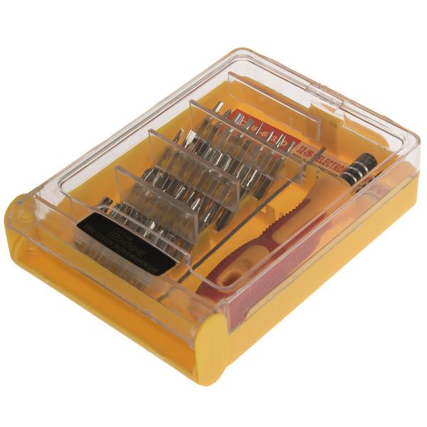 مجموعه 32 عددی پیچ گوشتی موبایلی Hoshe مدل JK-6032D