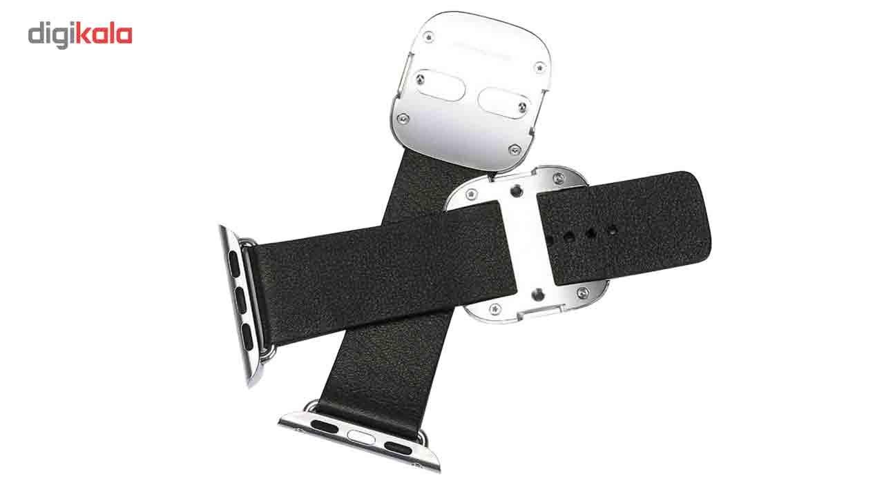 بند چرمی کوتتسی مدل Modern Buckle مناسب برای اپل واچ 38 میلی متر main 1 1