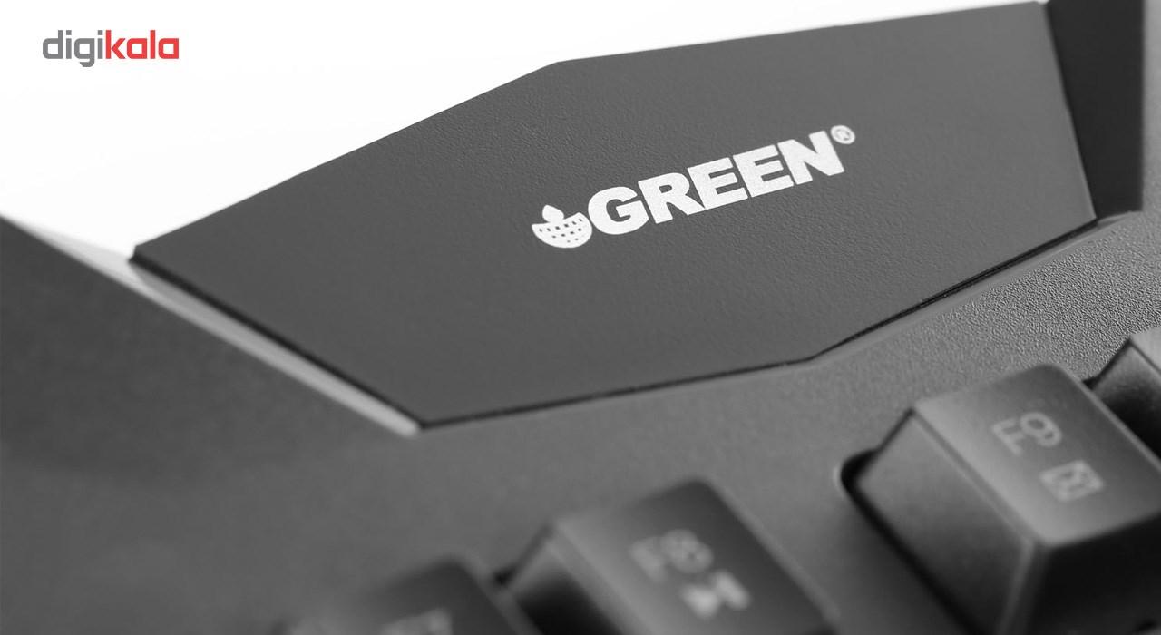 کیبورد مخصوص بازی گرین مدل GK403