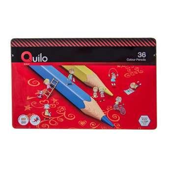 مداد رنگی 36 رنگ کوییلو کد 634008