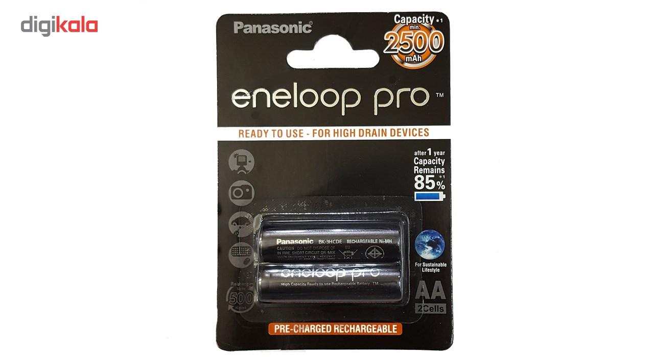 باتری قلمی قابل شارژ پاناسونیک مدل Eneloop Pro - بسته 2 عددی main 1 1