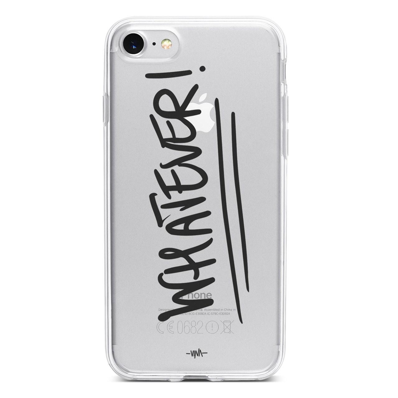 کاور  ژله ای مدل  Whatever   مناسب برای گوشی موبایل آیفون 7 و 8