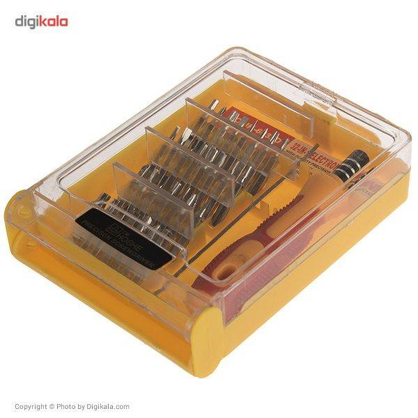 مجموعه 32 عددی پیچ گوشتی موبایلی Hoshe مدل JK-6032D main 1 1