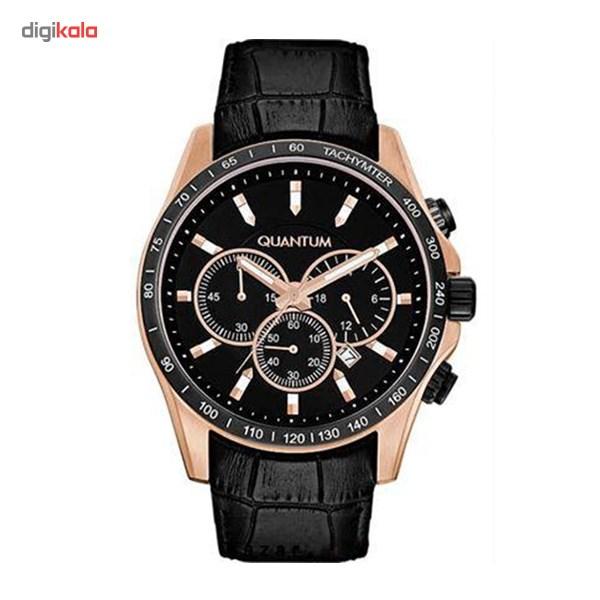 خرید ساعت مچی عقربه ای مردانه کوانتوم ADG281LRB-02BB