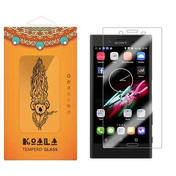 محافظ صفحه نمایش شیشه ای کوالا مدل Tempered مناسب برای گوشی موبایل سونی Xperia X Compact