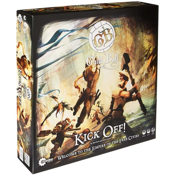 بازی رومیزی استیم فورج  مدل Guild ball Kick off