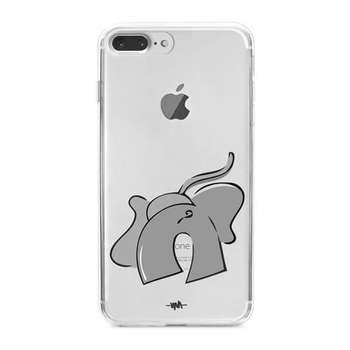 کاور  ژله ای مدلBig Gray مناسب برای گوشی موبایل آیفون 7 پلاس و 8 پلاس