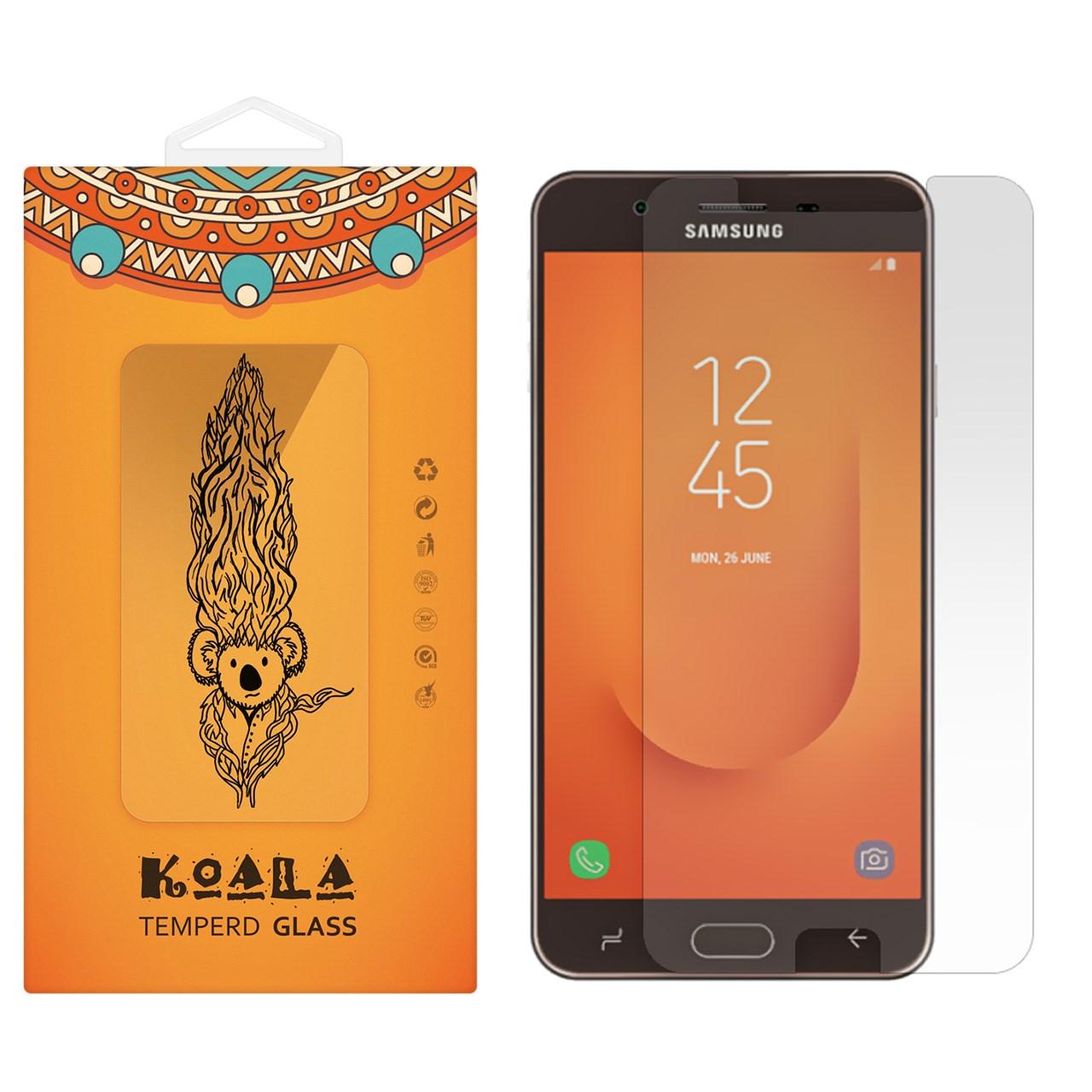 محافظ صفحه نمایش شیشه ای کوالا مدل Tempered مناسب برای گوشی موبایل سامسونگ Galaxy J7 Prime 2              ( قیمت و خرید)