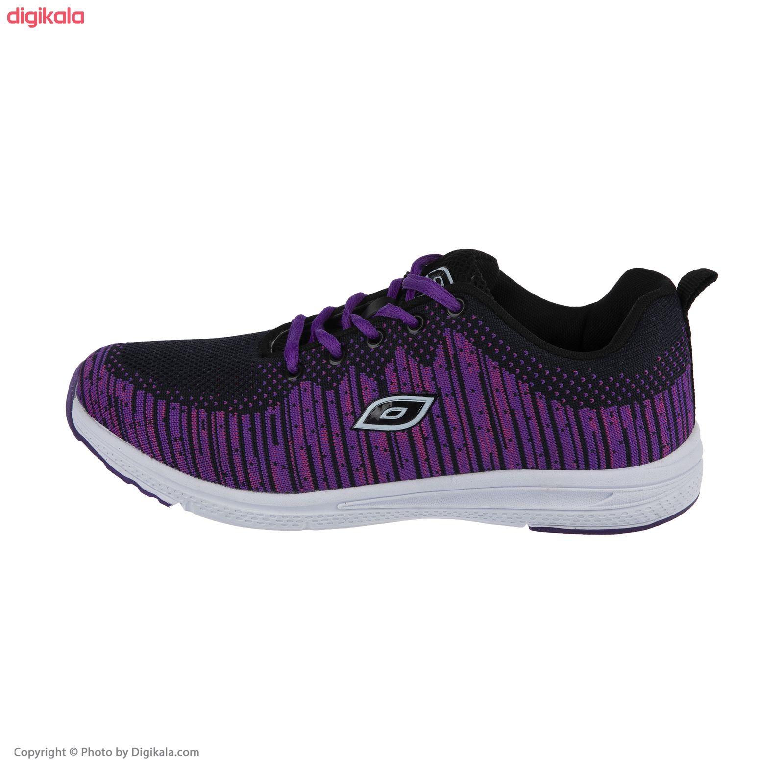 کفش مخصوص پیاده روی زنانه ملی مدل 83590572 رنگ بنفش main 1 1
