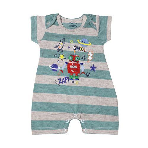 لباس نوزادی پسرانه زیر دکمه دار  مدل 2576