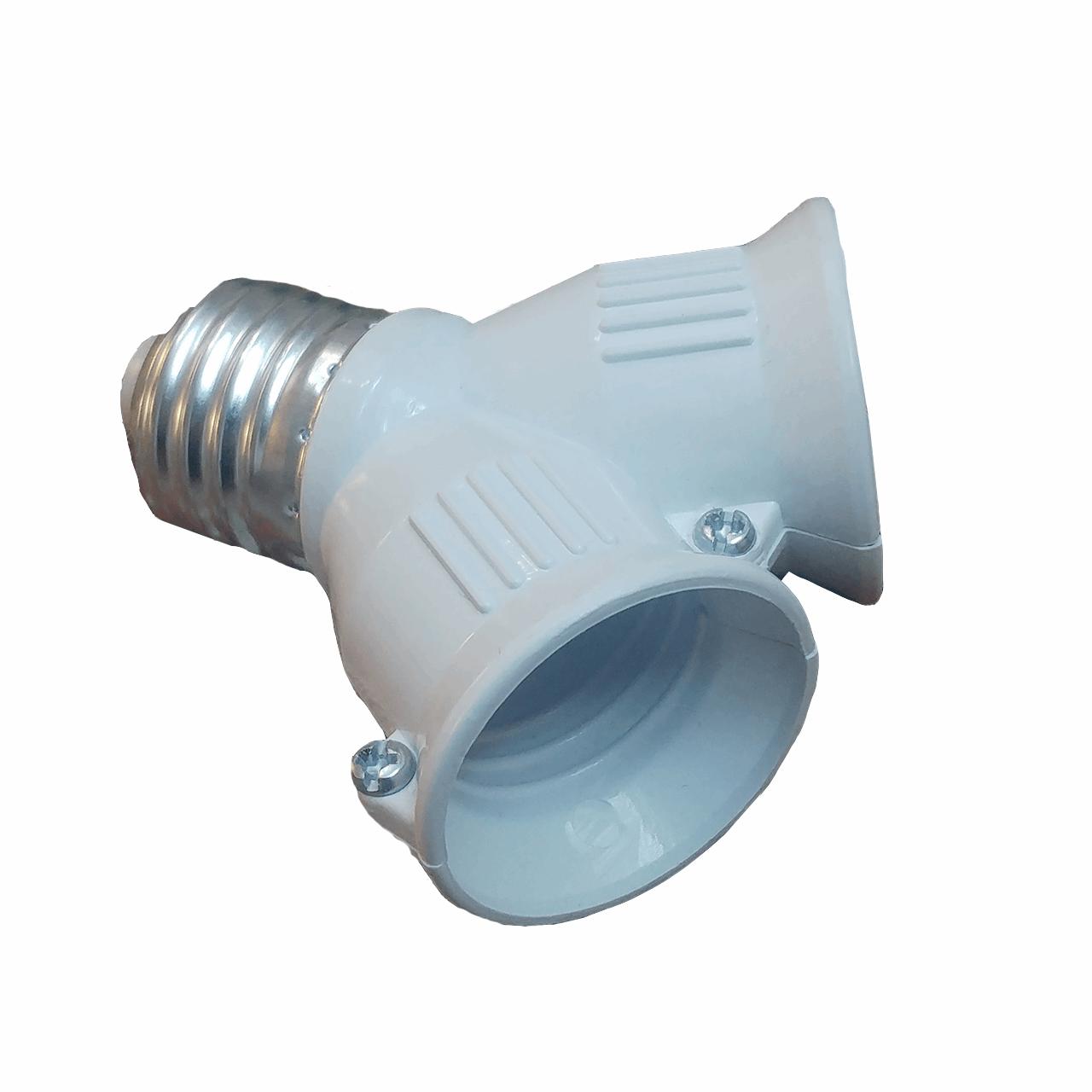 سرپیچ لامپ هرو مدل E27-2E27 بسته 5 عددی