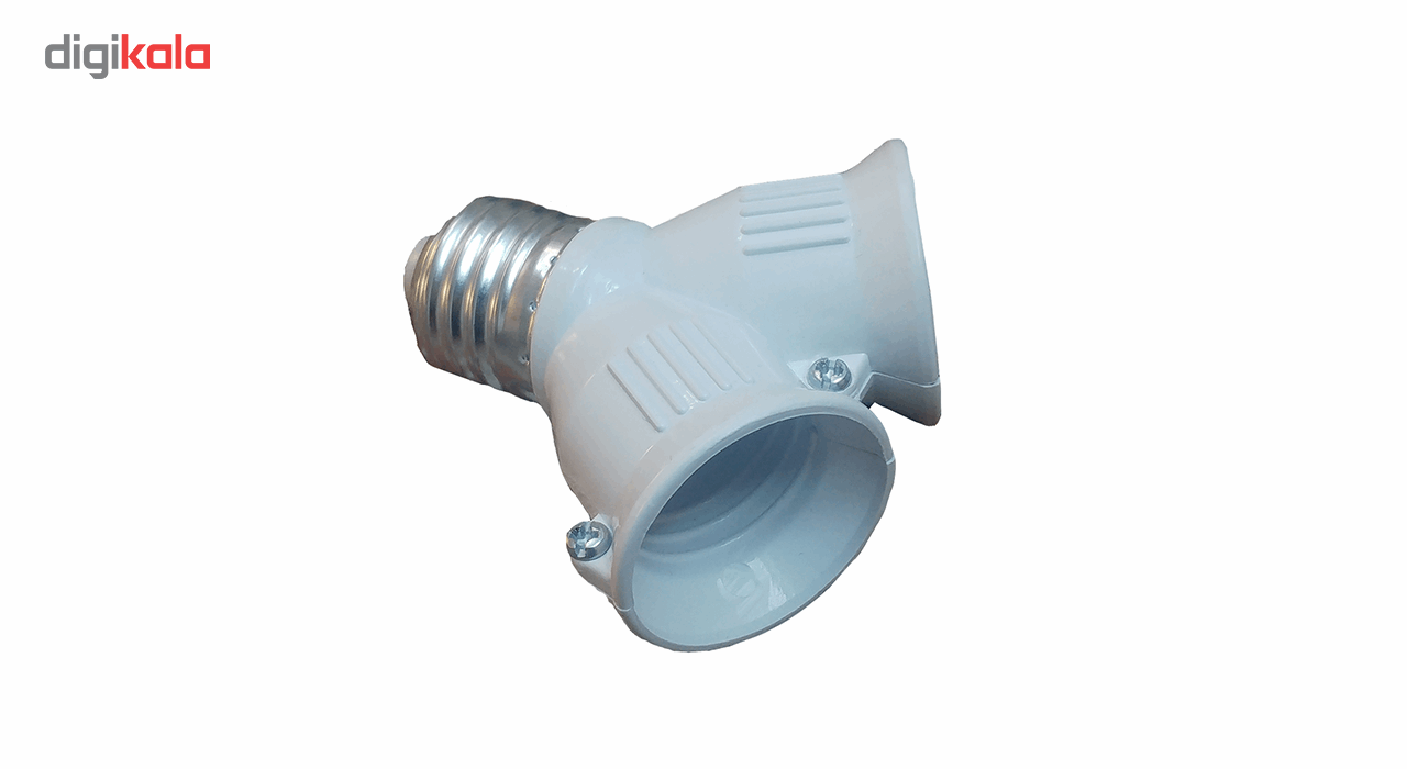 سرپیچ لامپ هرو مدل E27-2E27 بسته 5 عددی main 1 1