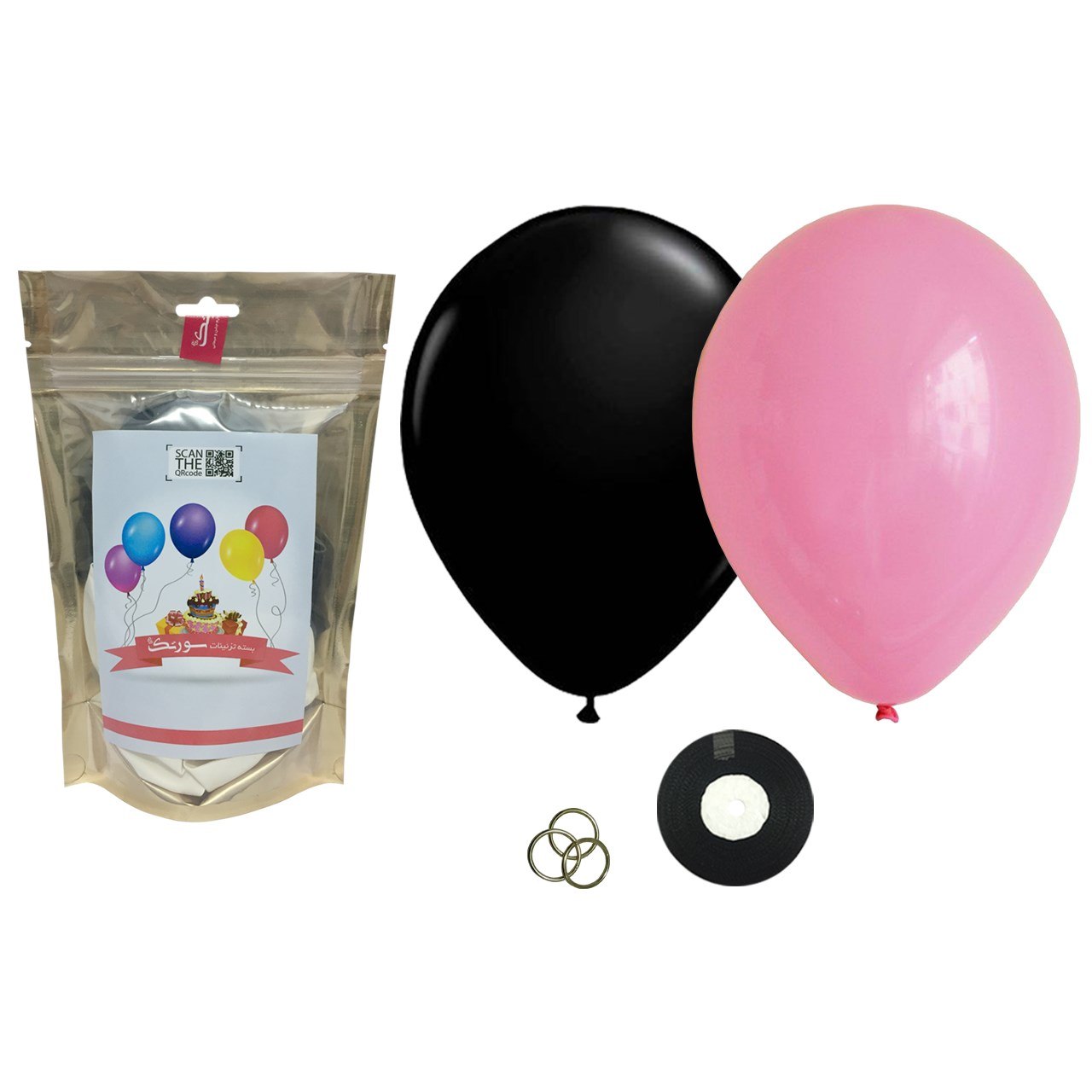 عکس پک بادکنک آرایی Helium Quality سورتک مدل STLH-04