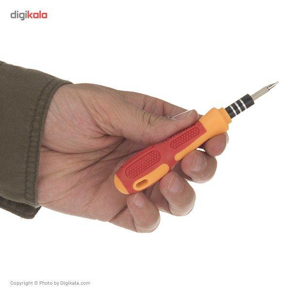 مجموعه 32 عددی پیچ گوشتی موبایلی Hoshe مدل JK-6032D main 1 6