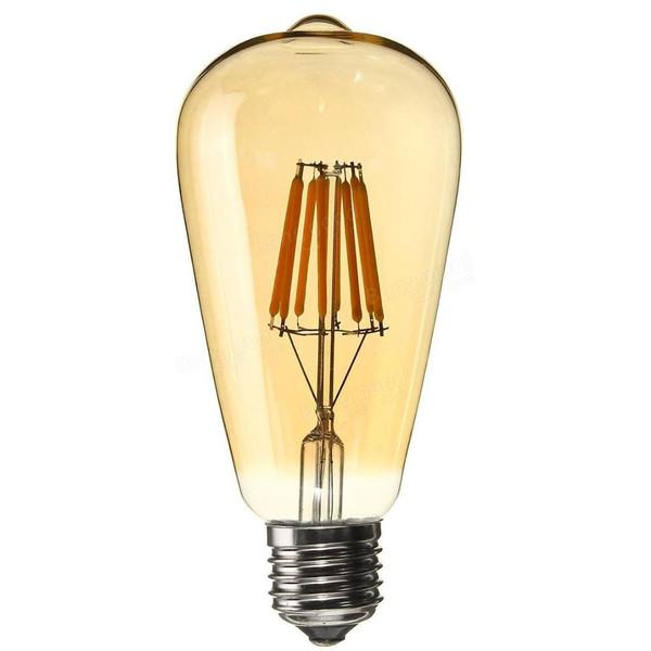 لامپ ال ای دی 8 وات ای دی سی مدل T BULB GOLD پایه E27