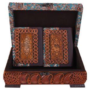 جعبه و کتابهای قرآن و دیوان حافظ مدل 01-09 سایز کوچک