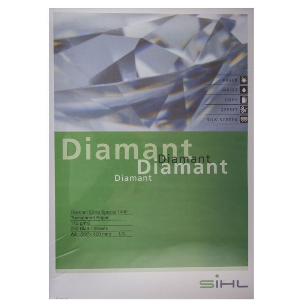 کاغذ کالک سیل مدل دیاموند سایز A3 بسته 250 عددی