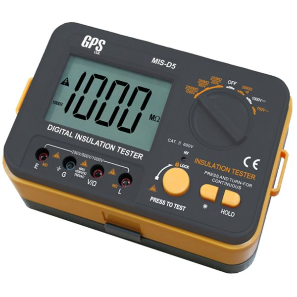 تستر عایق الکتریکی  GPS Ltd مدل MIS-D5  ولتاژ 1000 ولت