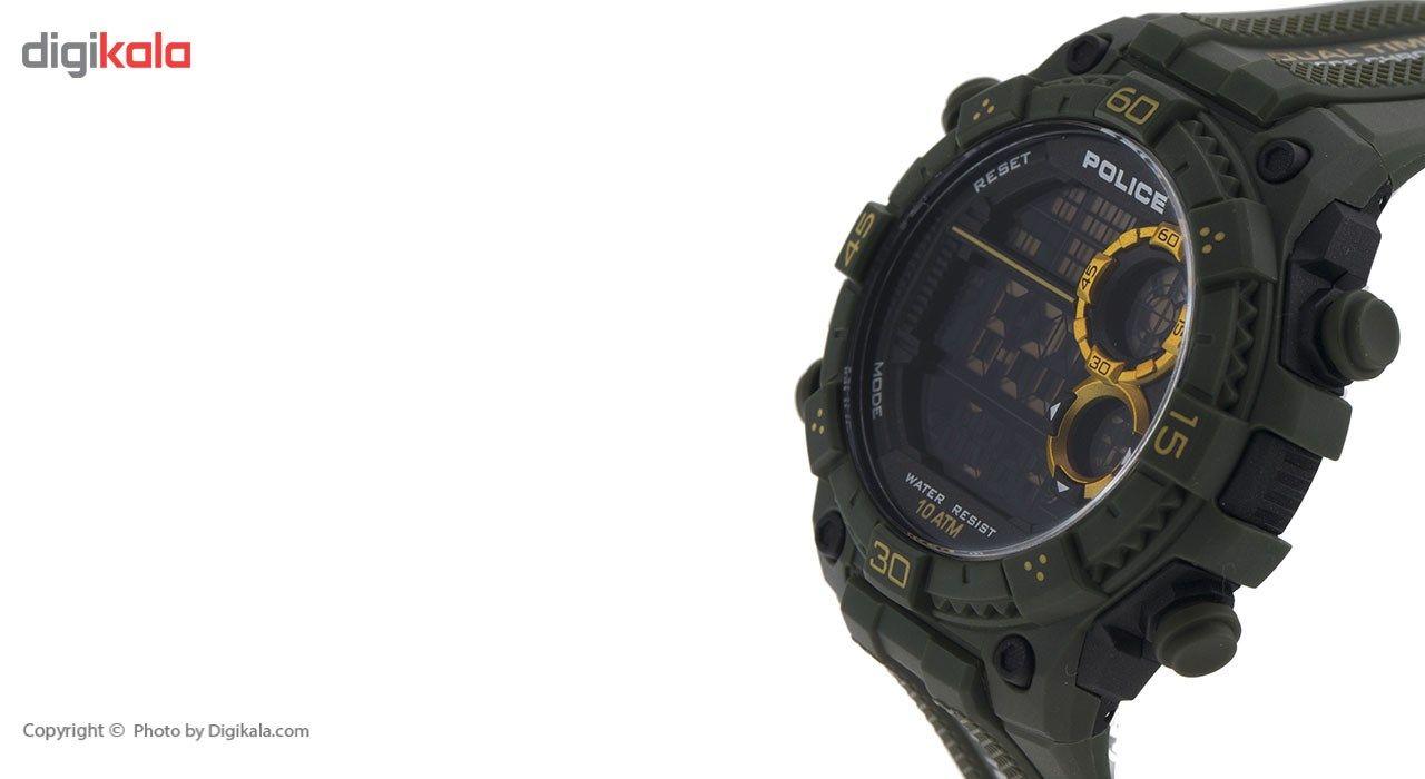 ساعت مچی دیجیتالی مردانه پلیس مدل P14680JPGN-02 -  - 3
