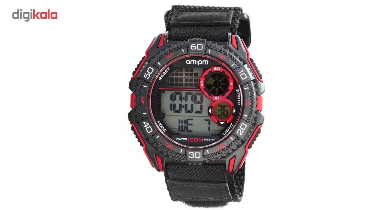 ساعت مچی دیجیتالی مردانه ای ام:پی ام مدل PC166-G404