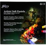 پاستل گچی 24 رنگ وایلد تولیپ مدل Gallery thumb