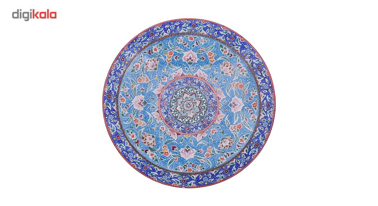 Copper Enamel Plate with 25cm diameter, 16-00 Model