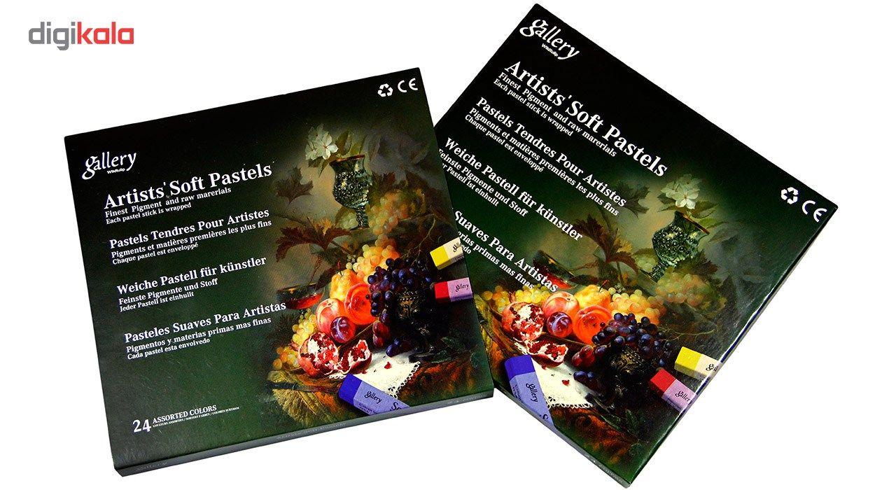 پاستل گچی 24 رنگ وایلد تولیپ مدل Gallery main 1 4