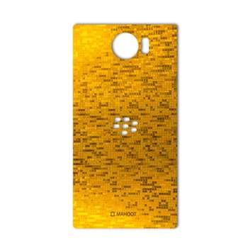 برچسب پوششی ماهوت مدل  Gold-pixel Special مناسب برای گوشی BlackBerry Priv