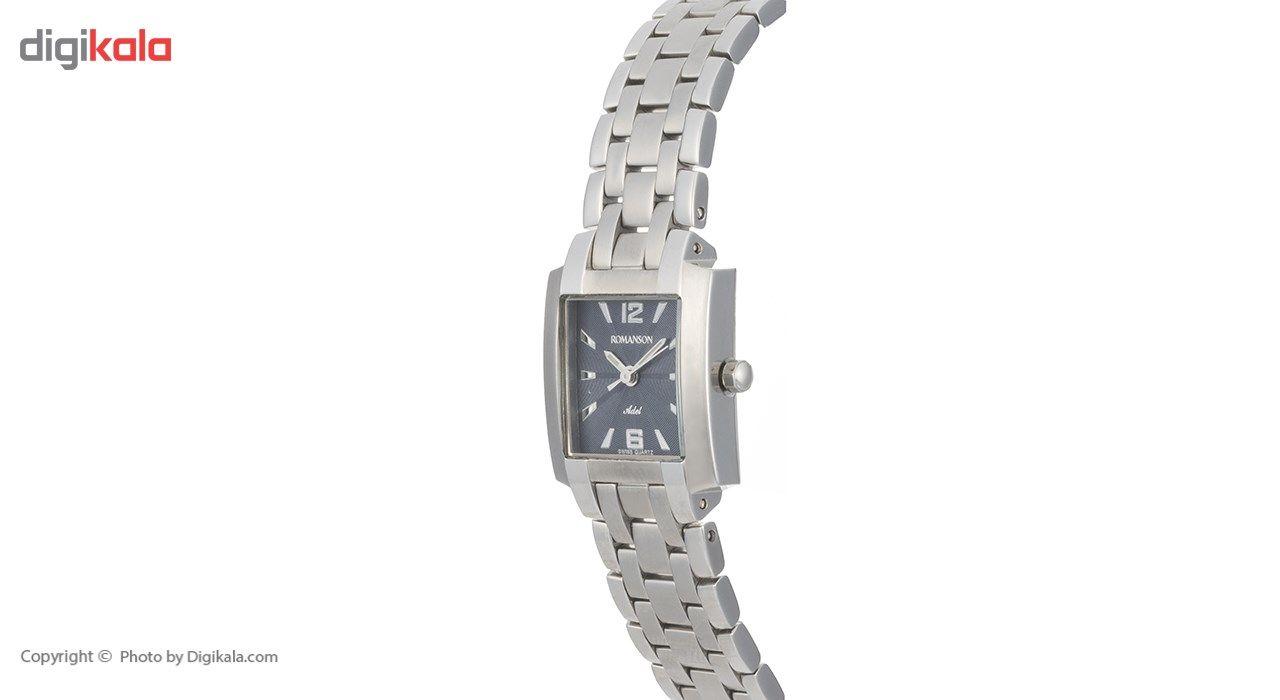 ساعت مچی عقربه ای زنانه رومانسون مدل TM7601LL1WA42W -  - 3