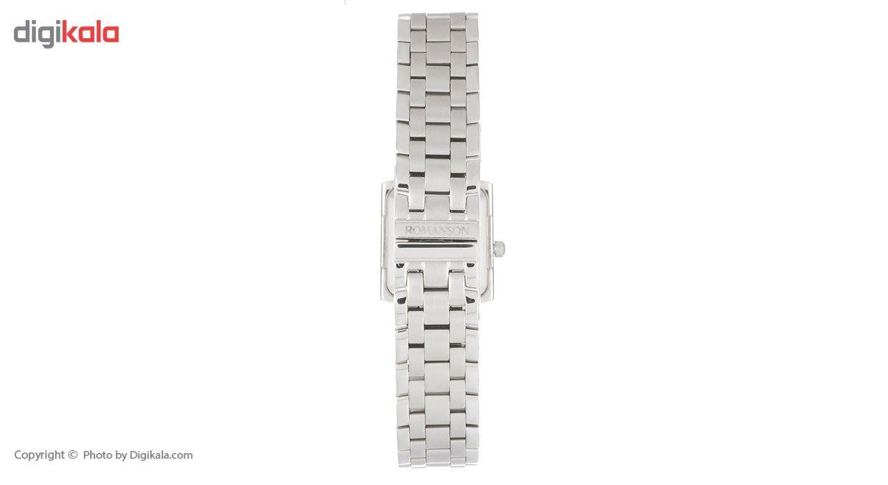 ساعت مچی عقربه ای زنانه رومانسون مدل TM7601LL1WA42W -  - 5