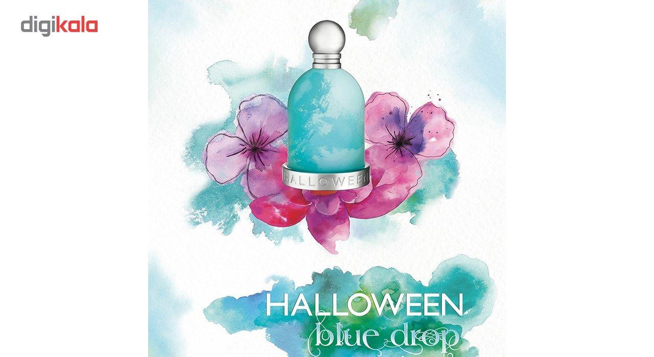 تستر ادو تویلت زنانه خسوس دل پوزو مدل Halloween Blue Drop حجم 100 میلی لیتر -  - 2