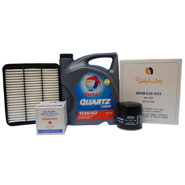 بسته تعویض روغن خودرو مدل HM1405 مناسب برای MVM530