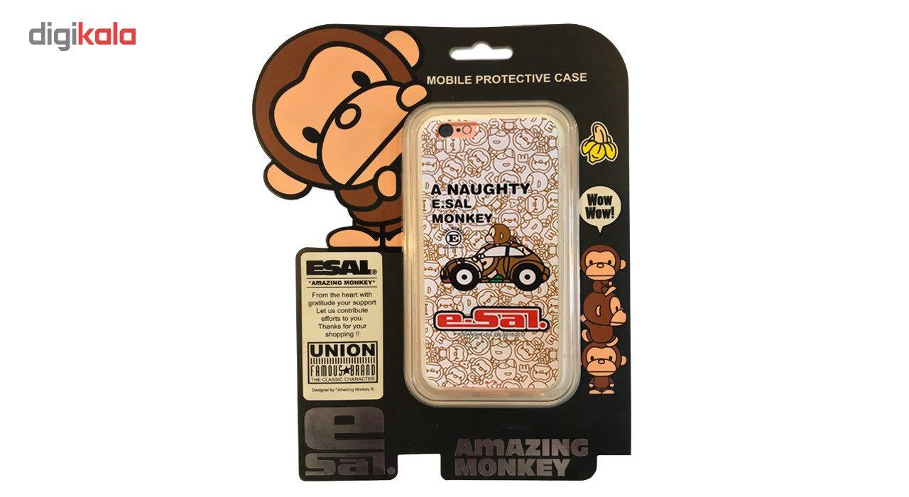 کاور مدل 6 Monkey  مناسب برای گوشی موبایل آیفون 6 /6s main 1 2