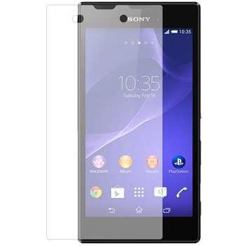 محافظ صفحه نمایش شیشه ای تمپرد مناسب برای گوشی موبایل سونی Xperia T3