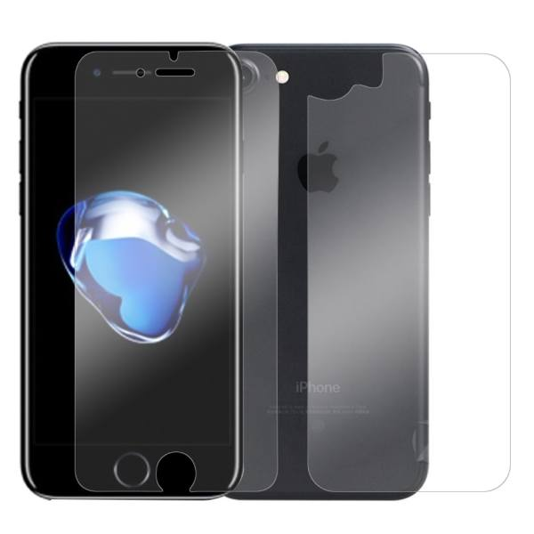 محافظ صفحه نمایش و پشت شیشه ای تمپرد مناسب برای گوشی موبایل اپل آیفون 7